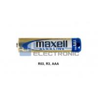 BAT. 1,5V AAA, R3 Alkaline MAXELL