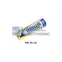 BAT. 1,5V AA, R6 Alkaline MAXELL